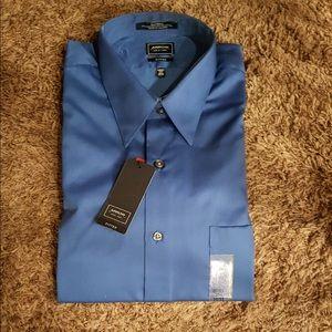 Men's Fitted Arrow Dress Shirt